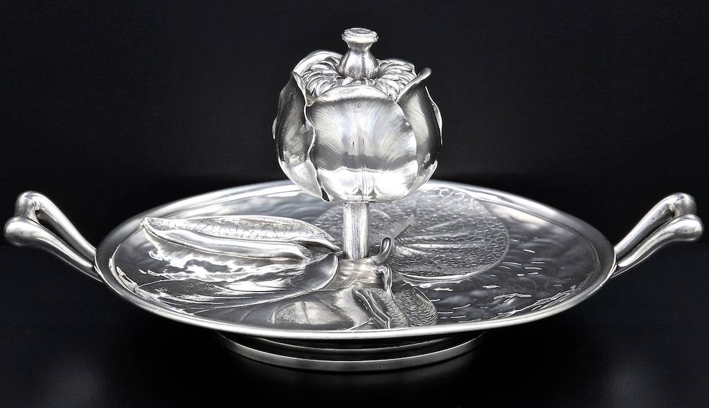 1874 inkstand Lily