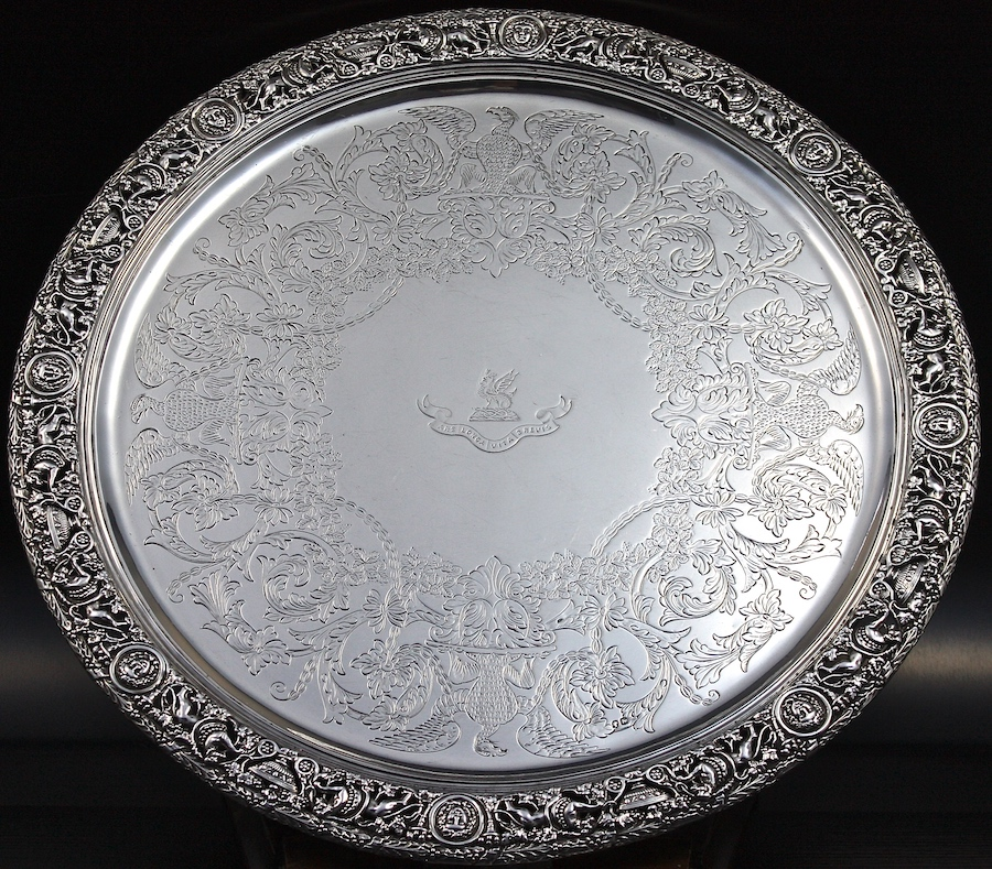 1873 Stephen Smith salver