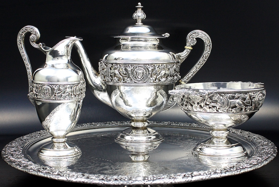 1873 Stephen Smith tea set