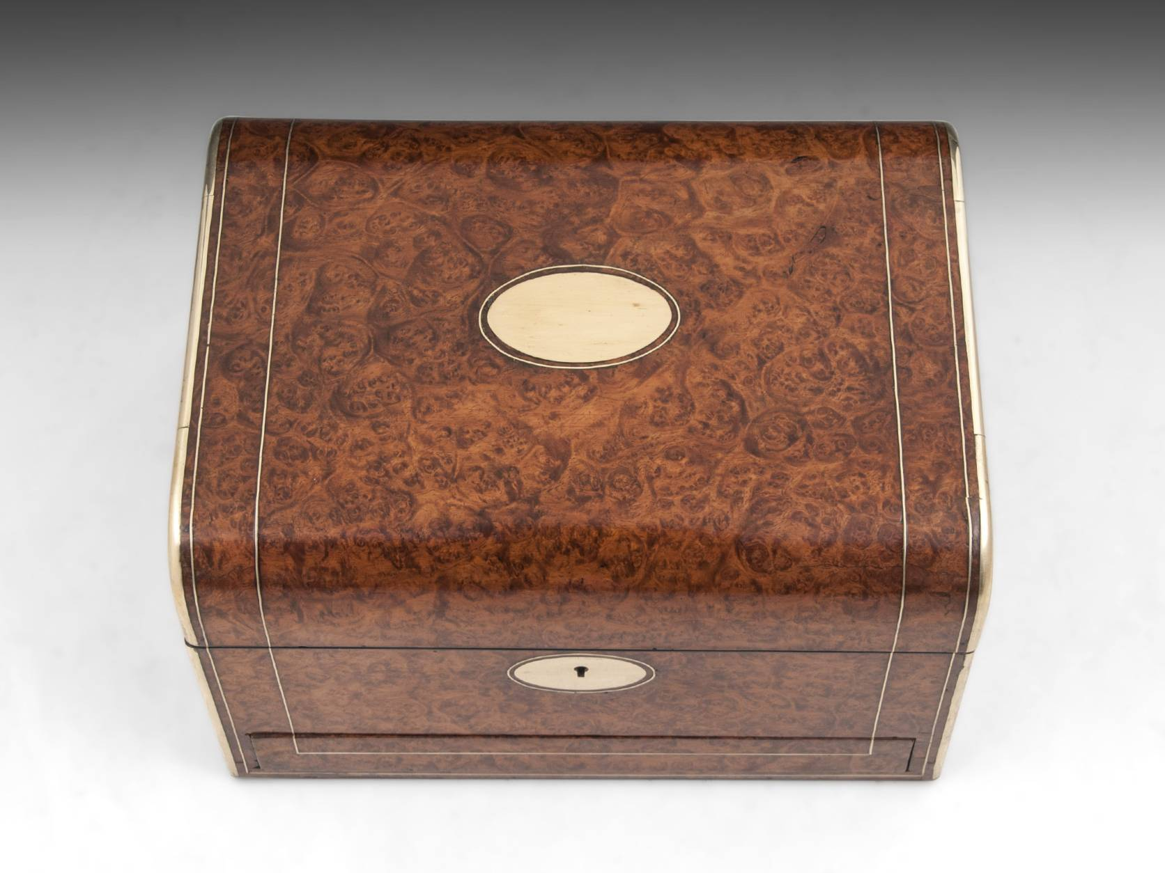 Amboyna Jewellery Box-2