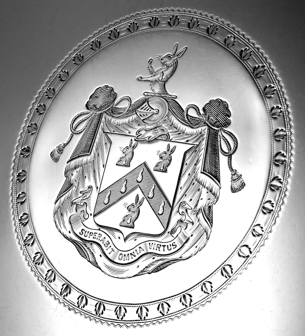 Wappen von Reginald Rabett of Bramfield Hall, Suffolk (1765-1828)