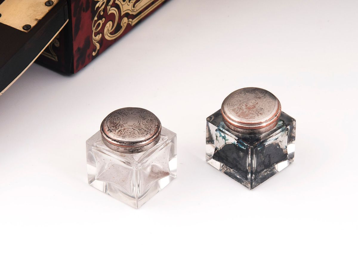 Boulle Writing Box-9